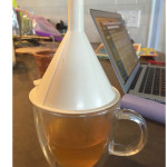 funnel hat mug